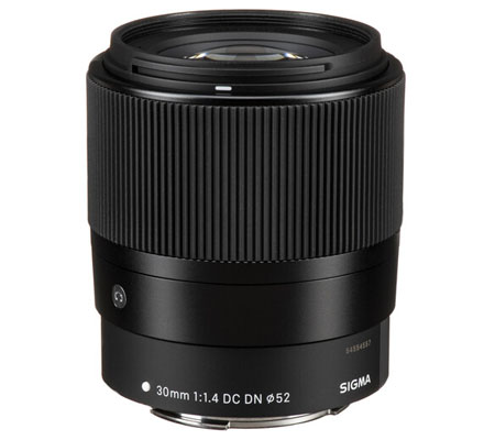 Sigma for Canon EF-M 30mm f/1.4 DC DN Contemporary Lens