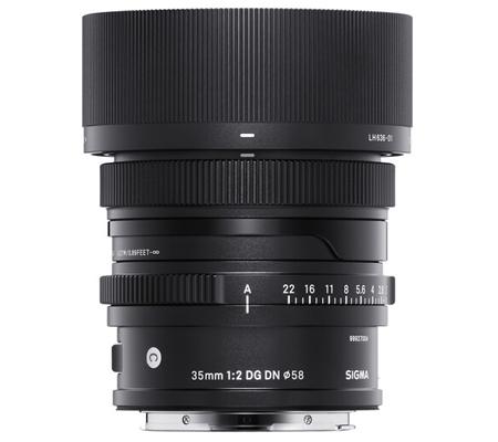 Sigma for Sony E 35mm f/2 DG DN Contemporary Lens