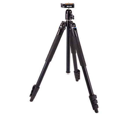 Slik Lite AL-420 Tripod with LED Center Column Flashlight