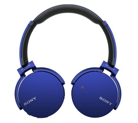 Sony Extrabass Bluetooth Headphones MDR-XB650BT Blue