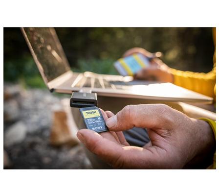 Sony SF-M Tough Series SDXC 128GB Read 277MB/s Write 150MB/s V60, U3, UHS-II