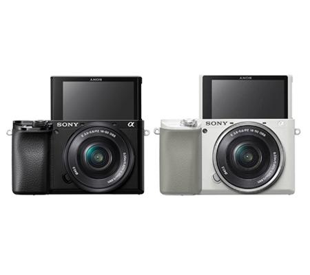 Sony Alpha A6100 Kit 16-50mm Mirrorless Digital Camera White