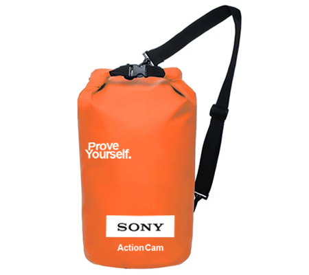 Sony Dry Bag Waterproof Action Camera Orange
