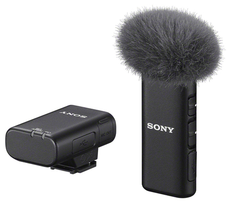 Sony ECM-W2BT Camera-Mount Digital Bluetooth Wireless Microphone
