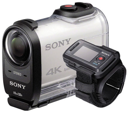 Sony FDR-X1000VR 4K Action Cam with Remote Bundle