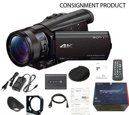 :::USED::: Sony FDR-AX700 4K 100% BRAND NEW # 518 CONSIGNMENT