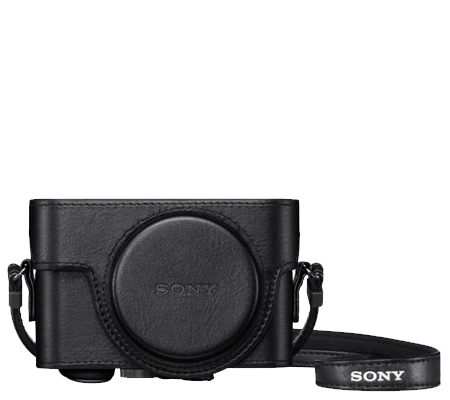 Sony LCJ-RXK Jacket Leather Case for Sony RX100 Series
