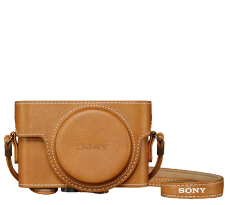 Sony Leather Case LCJ-RXK Jacket Case Half Case For RX100 Series Brown