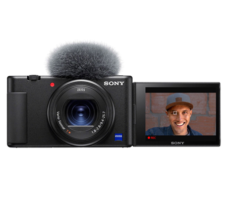 Sony ZV-1 Black Compact Camera