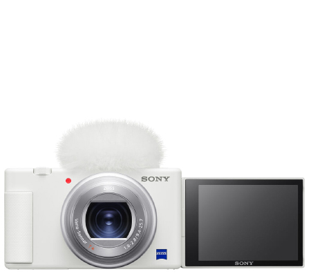 Sony ZV-1 White Compact Camera