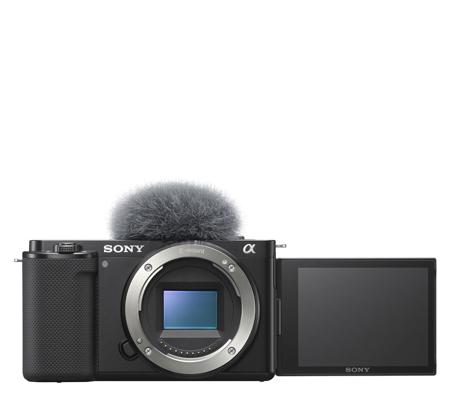 Sony ZV-E10 Mirrorless Camera Body Only Black
