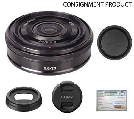 :::USED::: Sony E 20mm F/2.8 (Mint-626) Consignment