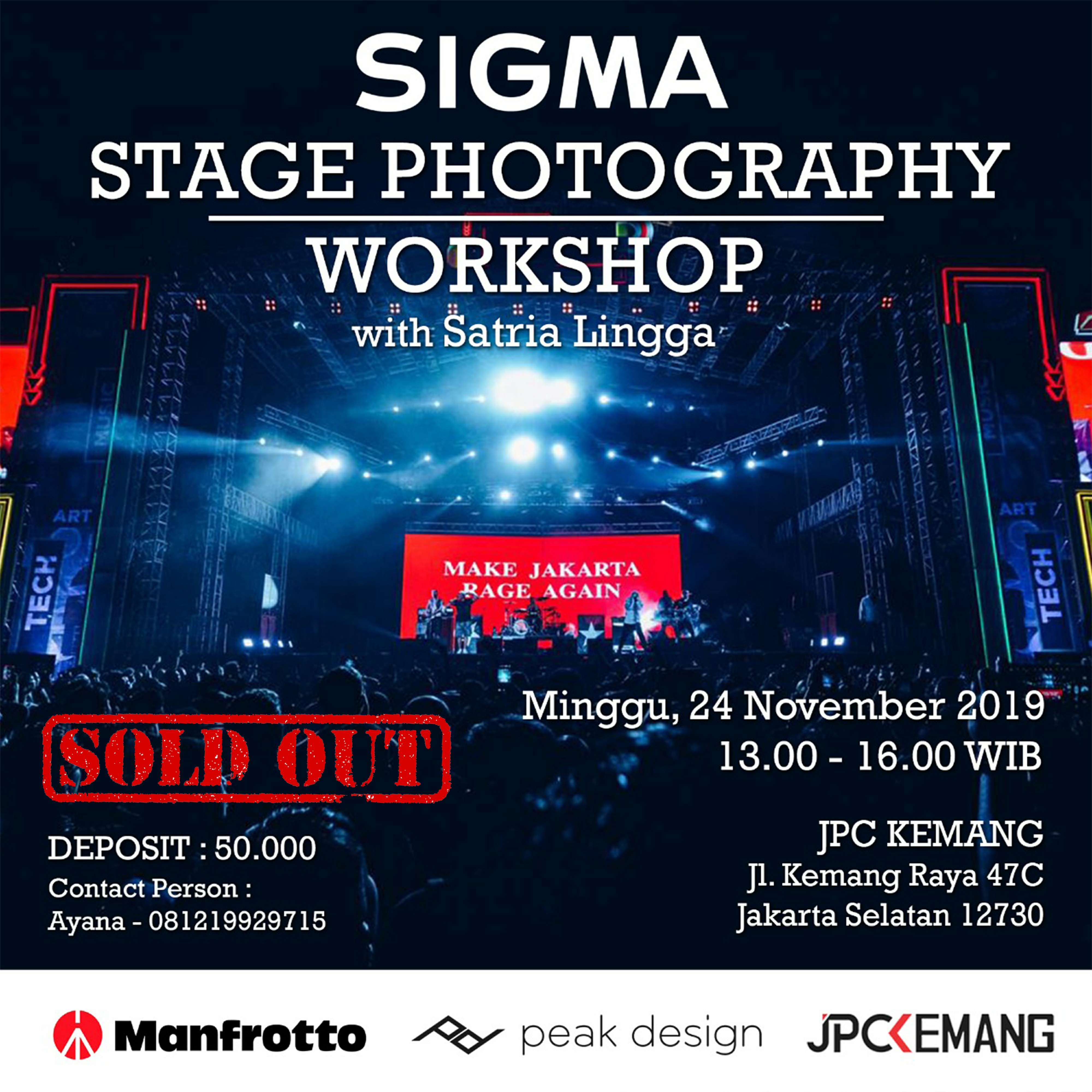 Stage Photography Workshop