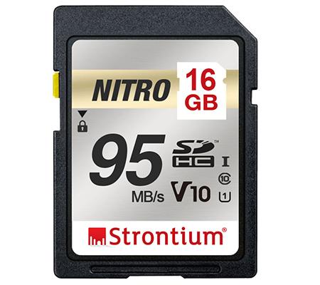 Strontium Nitro 16GB UHS-I SDHC 95MB/s