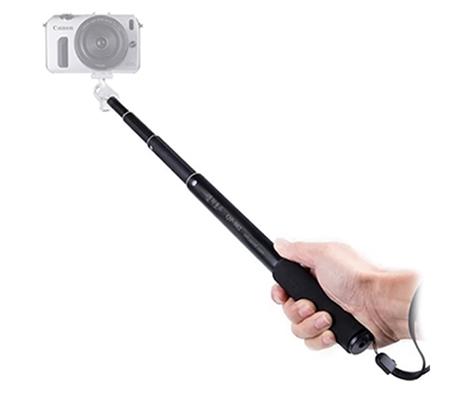Sysan Tongsis QP-902 Extended Selfie Stick Monopod Black