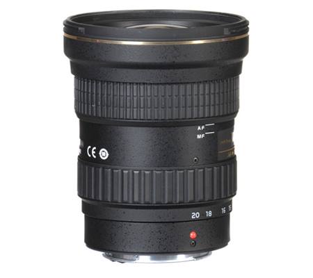 Tokina for Canon AT-X 14-20mm f/2 PRO DX Lens
