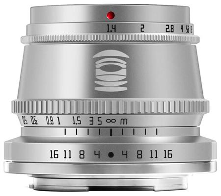 TTArtisan 35mm f/1.4 for Fujifilm X Mount Silver