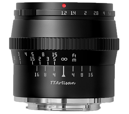 TTArtisan 50mm f/1.2 Lens for Canon EF-M Mount