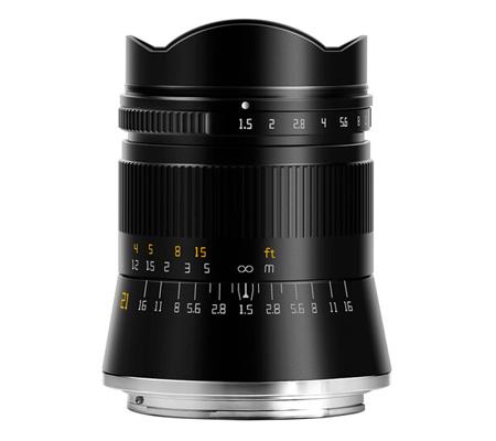 TTArtisan 21mm F/1.5 Lens for Nikon Z Mount Full Frame
