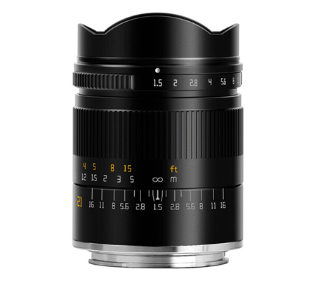 TTArtisan 21mm F/1.5 Lens for Sony FE Mount Full Frame