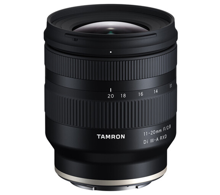 Tamron for Sony E 11-20mm f/2.8 Di III-A RXD Lens