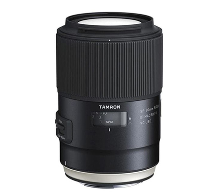 Tamron for Canon SP 90mm f/2.8 Di Macro VC USD.