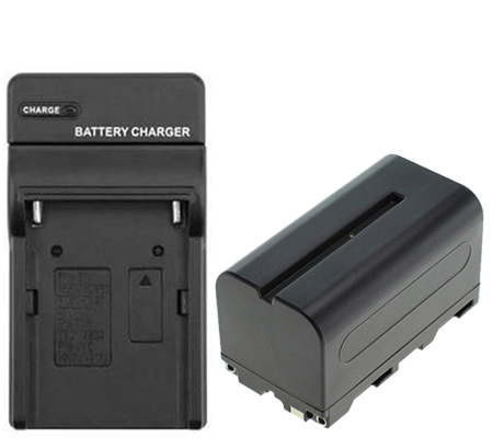 Digital Battery Replacement for Sony NP-F750 + Charger