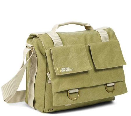 National Geographic NG-2476 Messenger Medium for DSLR and 15.4 inch Laptop