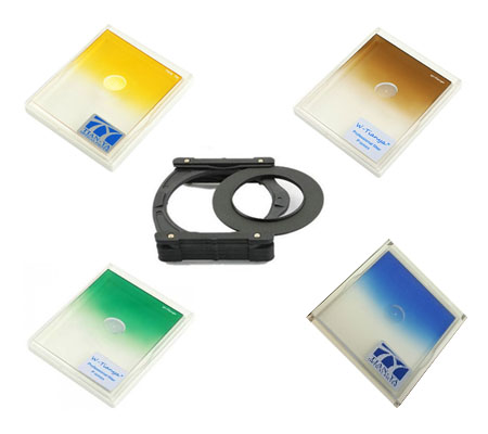 ::: USED ::: Tian Ya Graduated Color square filter Set (Excellent To Mint)