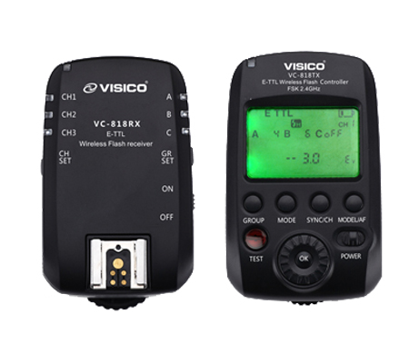 Visico 5 Kit Studio Lighting