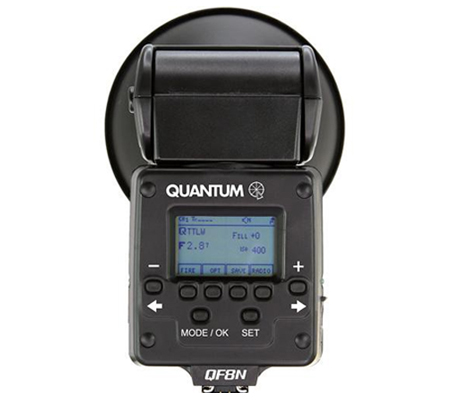Quantum Qflash TRIO QF8N for Nikon