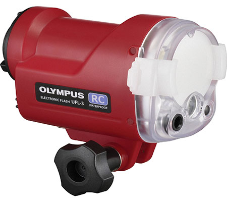 Olympus UFL-3 Underwater Strobe Flash.