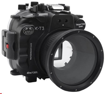 Seafrogs Underwater Housing for Fujifilm X-T3 kit 18-55mm