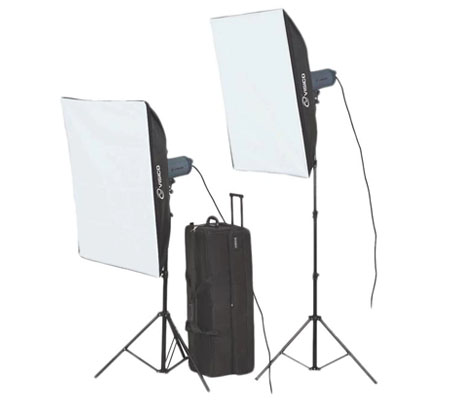 Visico VC-400HH 220V SB Studio Lighting Kit