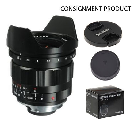 :::USED:::Voigtlander 21mm f1.8 Ultron M-Mount Lens (Exmint) Kode 747 Consignment