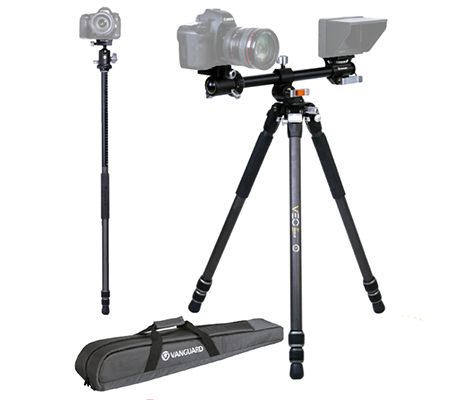 Vanguard VEO 3+ 263CB Carbon Fiber Tripod with Ball Head