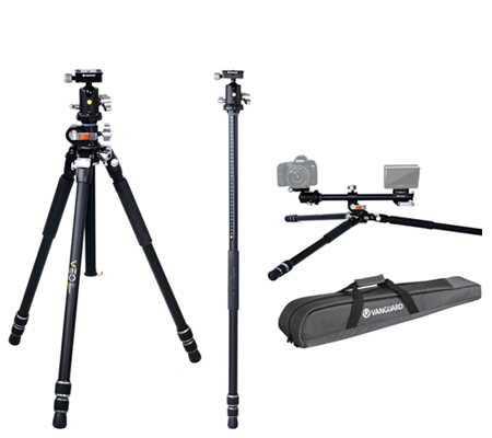Vanguard VEO 3+ 263AB Aluminum Fiber Tripod with Ball Head