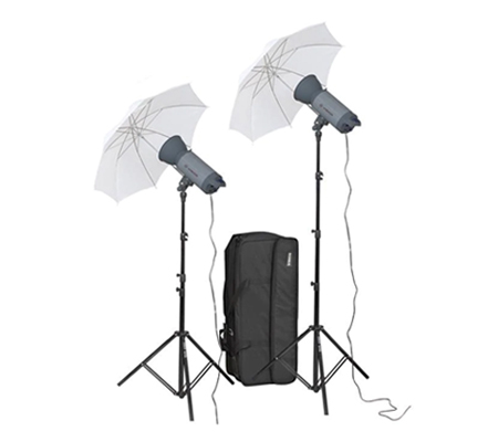 Visico VC-300HH 220V Umbrella KIT Studio Lighting Kit