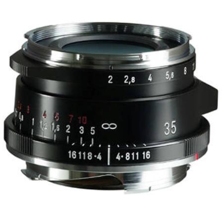 Voigtlander Ultron Vintage Line 35mm f/2 Aspherical Type II VM Lens for Leica M (Black)