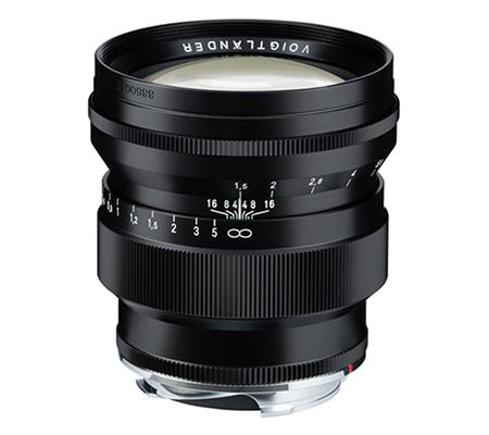 Voigtlander 75mm f1.5 VM Nokton for Leica M Mount Black