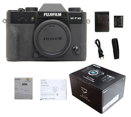 ::: USED ::: Fujifilm X-T10 Body (Black) (Excellent-257)