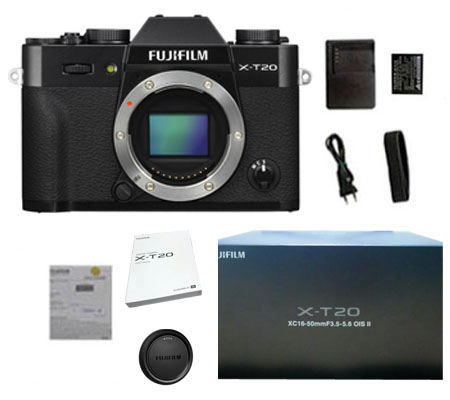 ::: USED ::: Fujifilm X-T20 Body (Black) (Excellent To Mint-897)