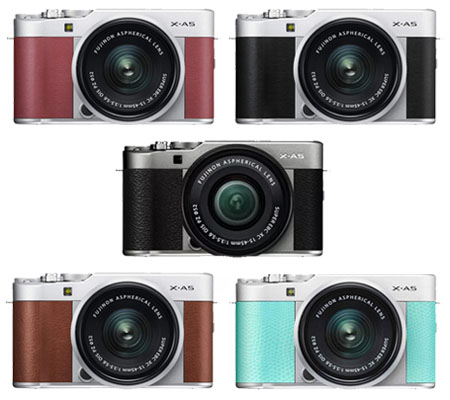 Fujifilm XA5 kit XC 15-45mm f/3.5-5.6 OIS PZ Dark Silver