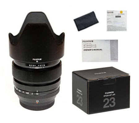 ::: USED ::: Fujifilm XF 23mm F/1.4 R (Excellent To Mint-864)