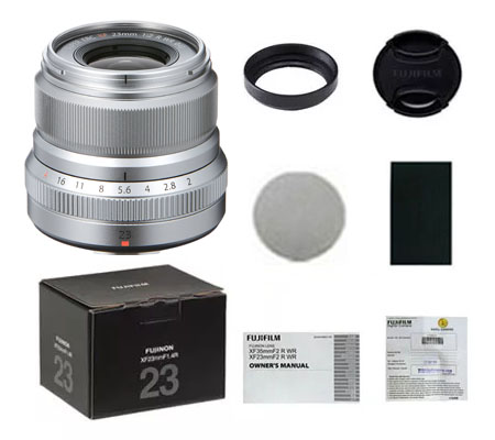 ::: USED ::: Fujifilm XF 23mm F/2 R WR (Silver) (Excellent To Mint-061)