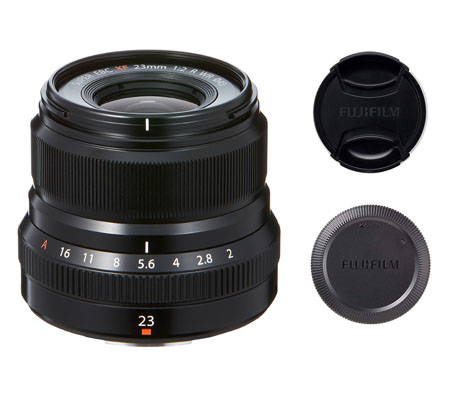 ::: USED ::: Fujifilm XF 23mm F/2 R WR (Black) (Excellent To Mint-531)