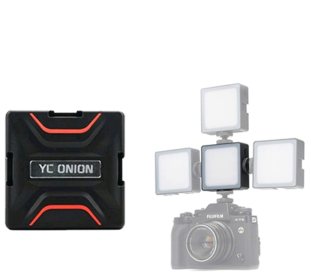YC Onion Brownie CCT LED Light Black