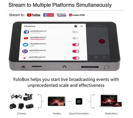 YoloBox Portable Multi-Camera Live Stream Studio