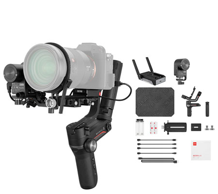 Zhiyun WEEBILL S Handheld Gimbal Stabilizer Complete Set with Follow Focus + VT