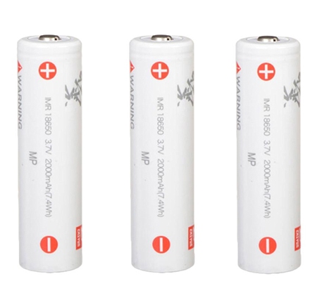 Zhiyun Battery 18650 for Crane 2 (3pc) 2000mAh